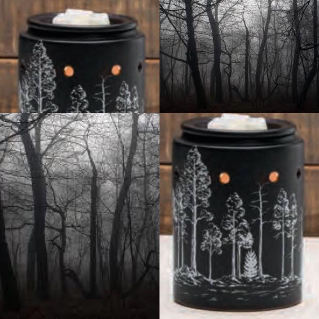Black Forest Scentsy Christmas 2020 An unexpected white on black contrast gives Scentsy's Black Forest