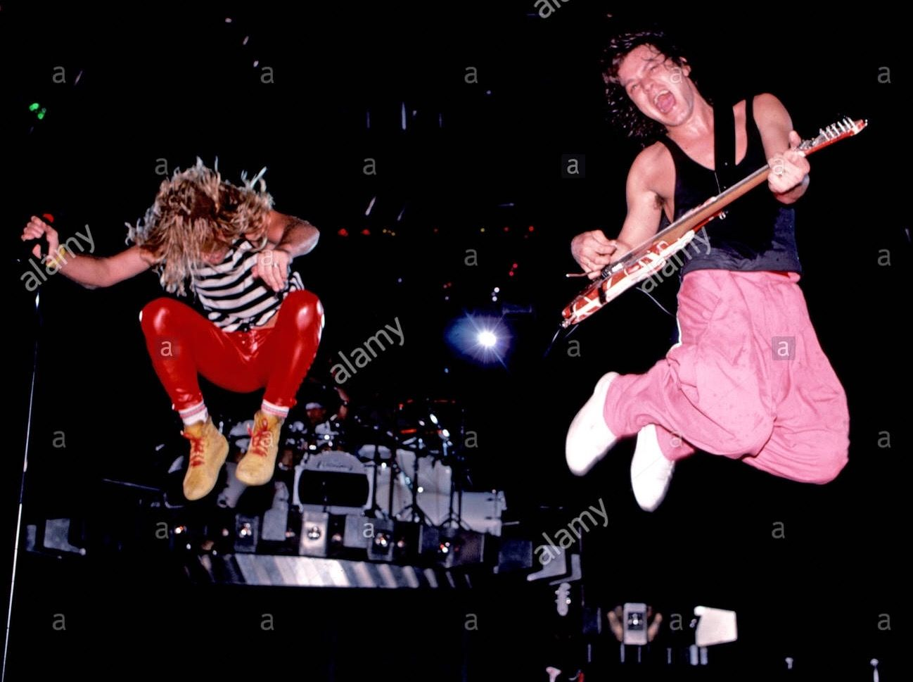 Pin By Margaret Washburn Freeman On 80s Music Van Halen Greatest Rock Bands Red Rocker