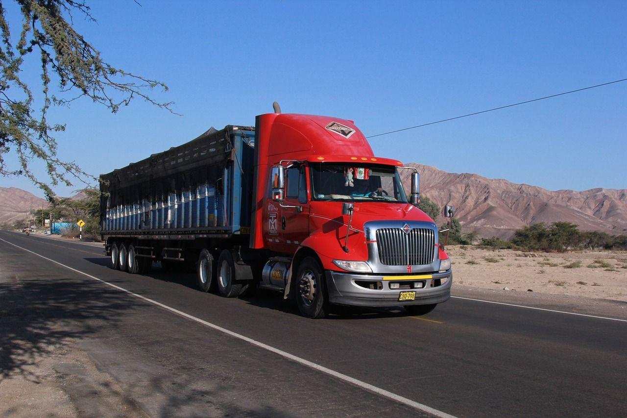 Travel, Truck Transport Property Road Asphalt Trav travel