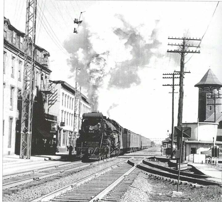 Old photo of train in Lebanon, Pa. | Lebanon, PA - My Hometown ...
