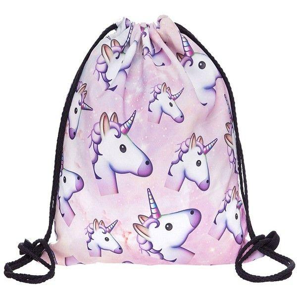 Amazon.com  Print Drawstring Backpack Rucksack Shoulder Bags Gym Bag... ❤ 1ae182717993d