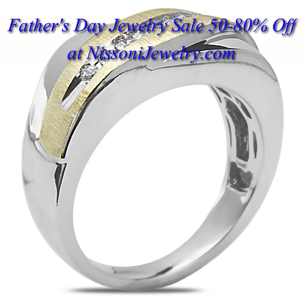 Father's Day Jewelry Gifts 50-80% OFF www NissoniJewelry.com presents Jewelry for all occasions - Engagement & Bridal Diamond Jewelry, Wedding & Anniversary, Birthstone & Colorstone Jewelry, Gifts & more...
