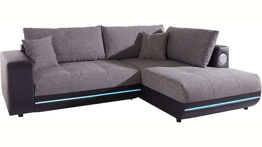 Polsterecke, wahlweise mit Bettfunktion, Energieeffizienz A Jetzt - wohnzimmer sofa braun