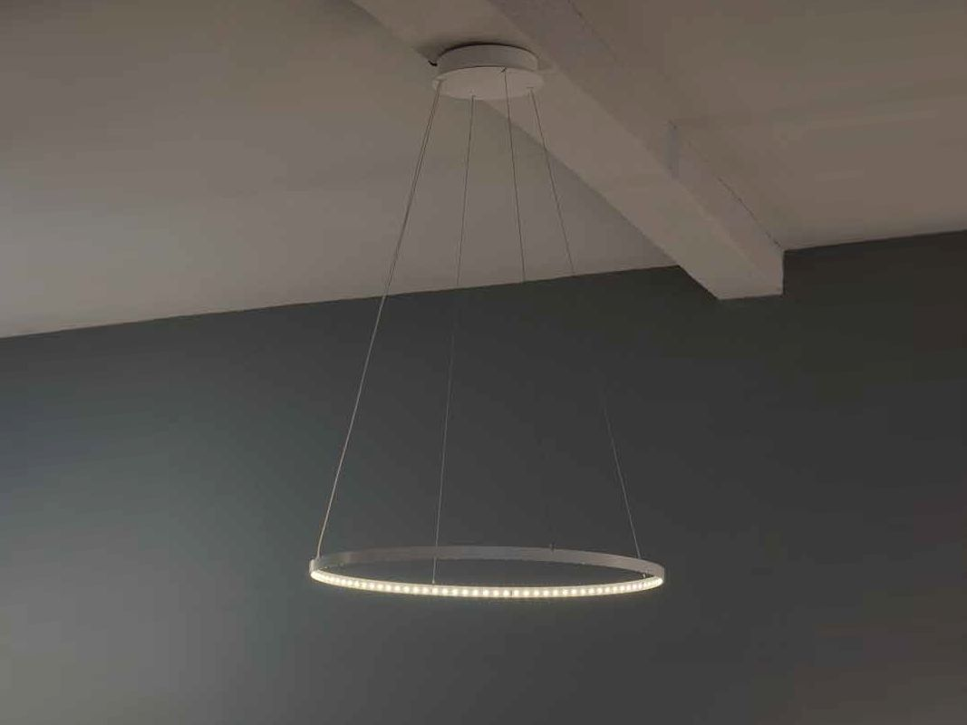 led direct indirect light pendant lamp circle le deun luminaires lights pinterest. Black Bedroom Furniture Sets. Home Design Ideas