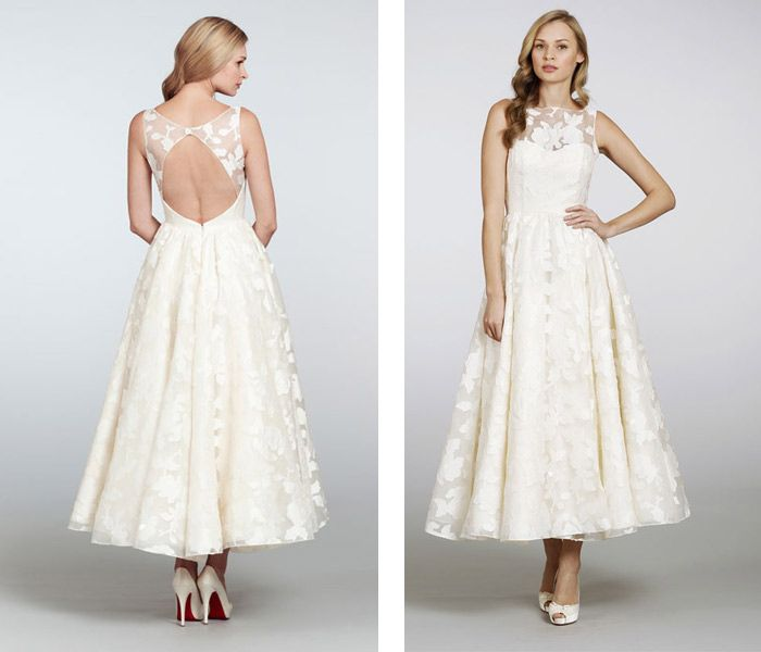 "Nordstrom Wedding Guest Dresses: Hayley Paige ""Hepburn"" Gown At Nordstrom Wedding Suites"