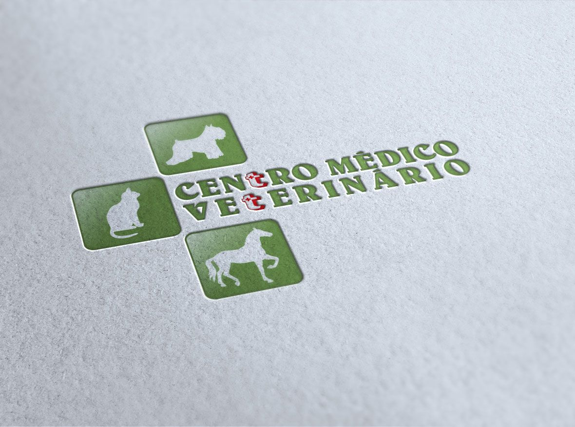 Reformulação da marca do Centro Veterinário