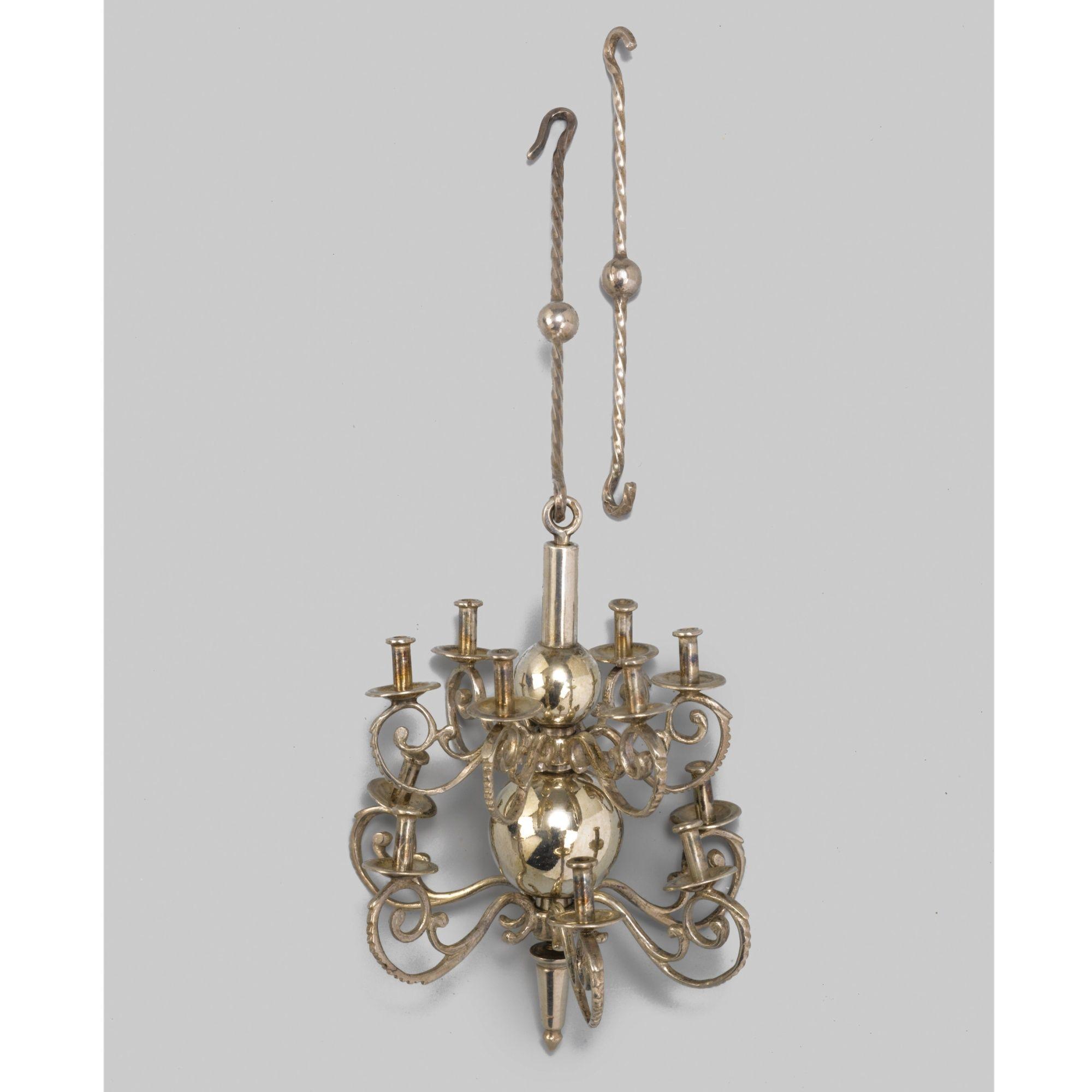 A dutch silver miniature chandelier modern mini me pinterest a dutch silver miniature chandelier modern arubaitofo Image collections