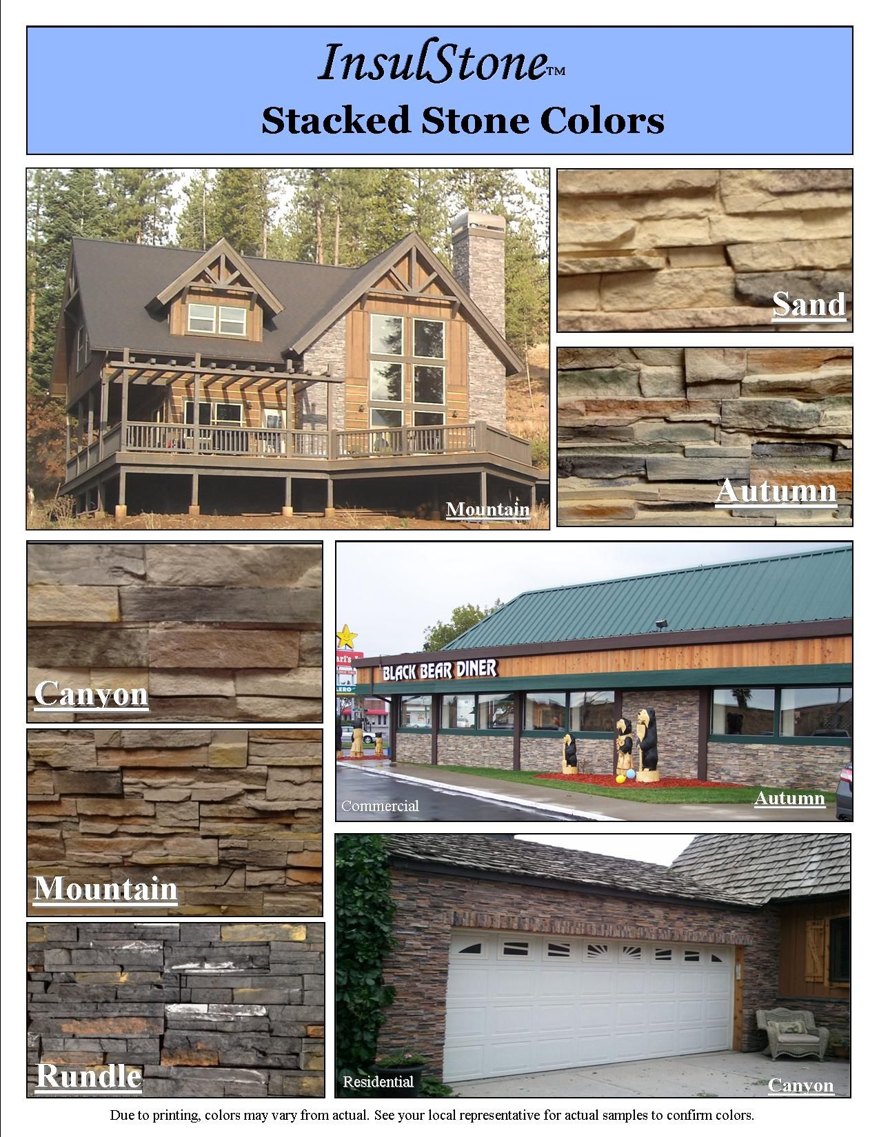 """InsulStone by Castle Rock, """"Peel and Stick Stone Veneer ... on Rock And Stone Outdoor Living id=84479"""