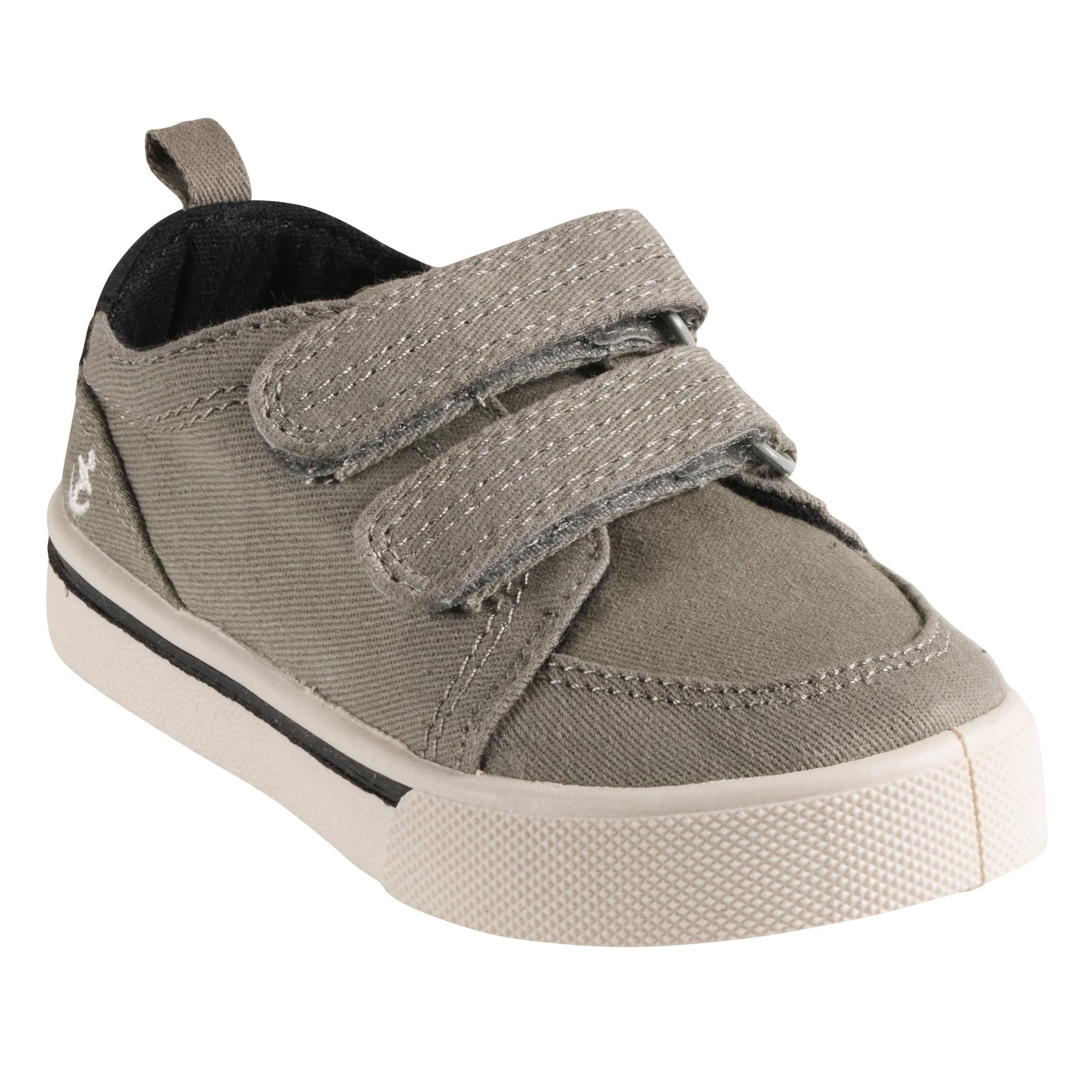 boys Gray Canvas Shoes Toddler Boy Shoes $20