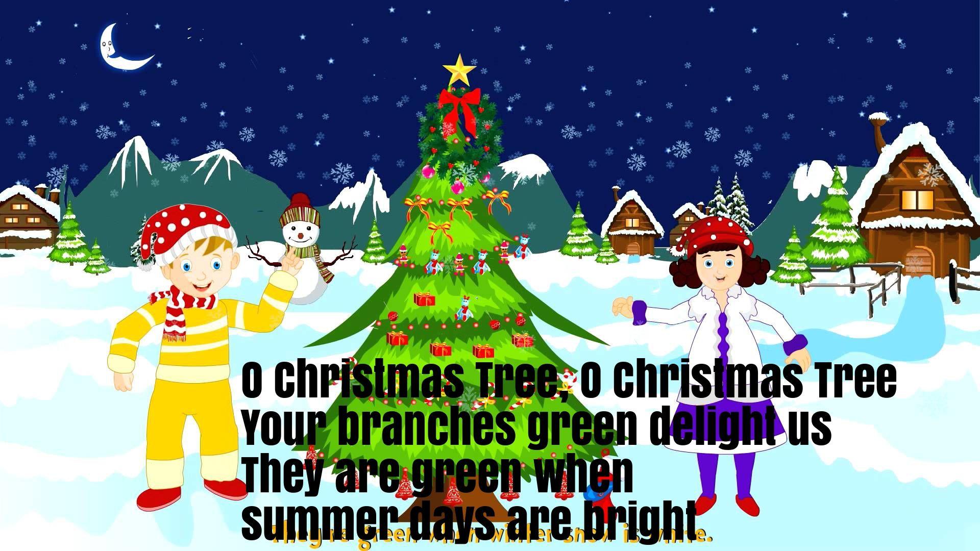 O Christmas Tree Nursery Rhyme Lyrics Nursery Rhymes Lyrics Tree Nursery Rhymes Lyrics