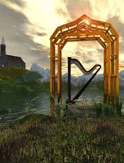 Dagda's Harp  The Dagd was a high priest who had a large and beautiful harp.