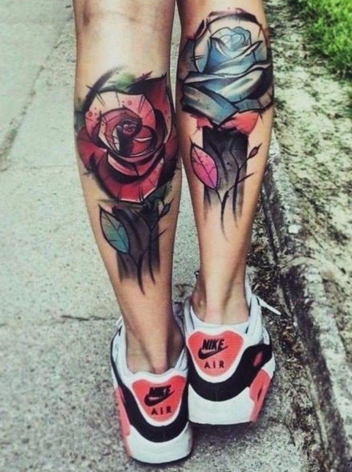 Pin by Mariah Latour on Tatoo Rose tattoos for women