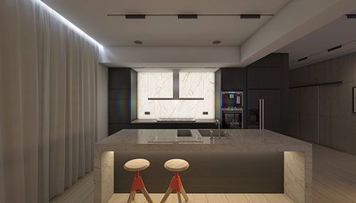 Sfeerverlichting in woonkamer | Interieur inrichting - Verlichting ...