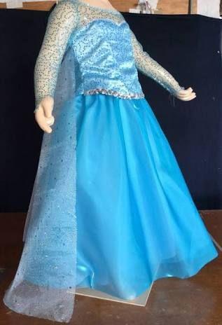 Resultado De Imagen Para Vestido Da Elsa Frozen Infantil
