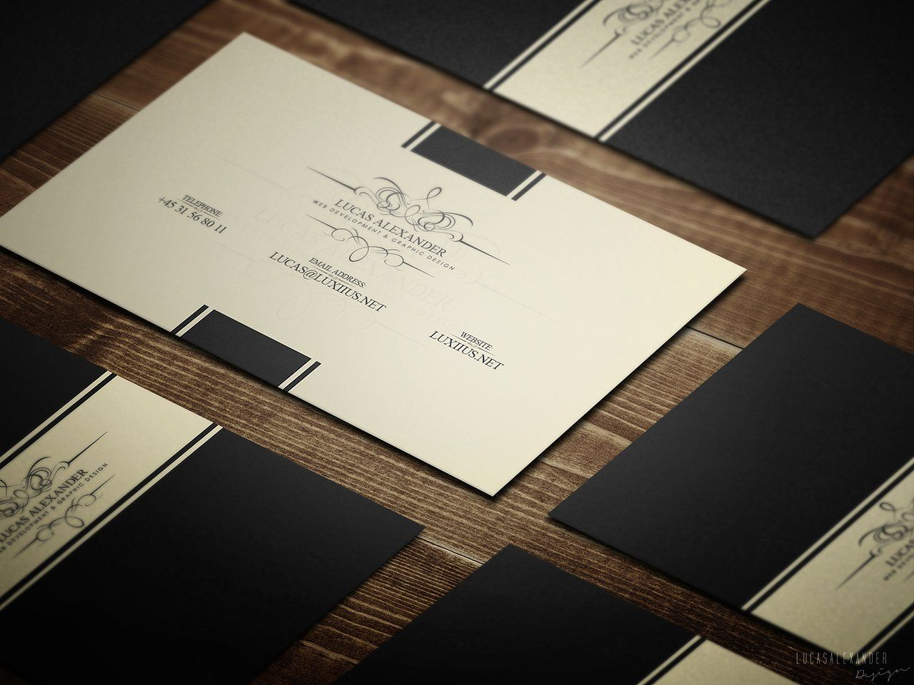 Classy Business Card | Business cards, Design blogs and Print templates