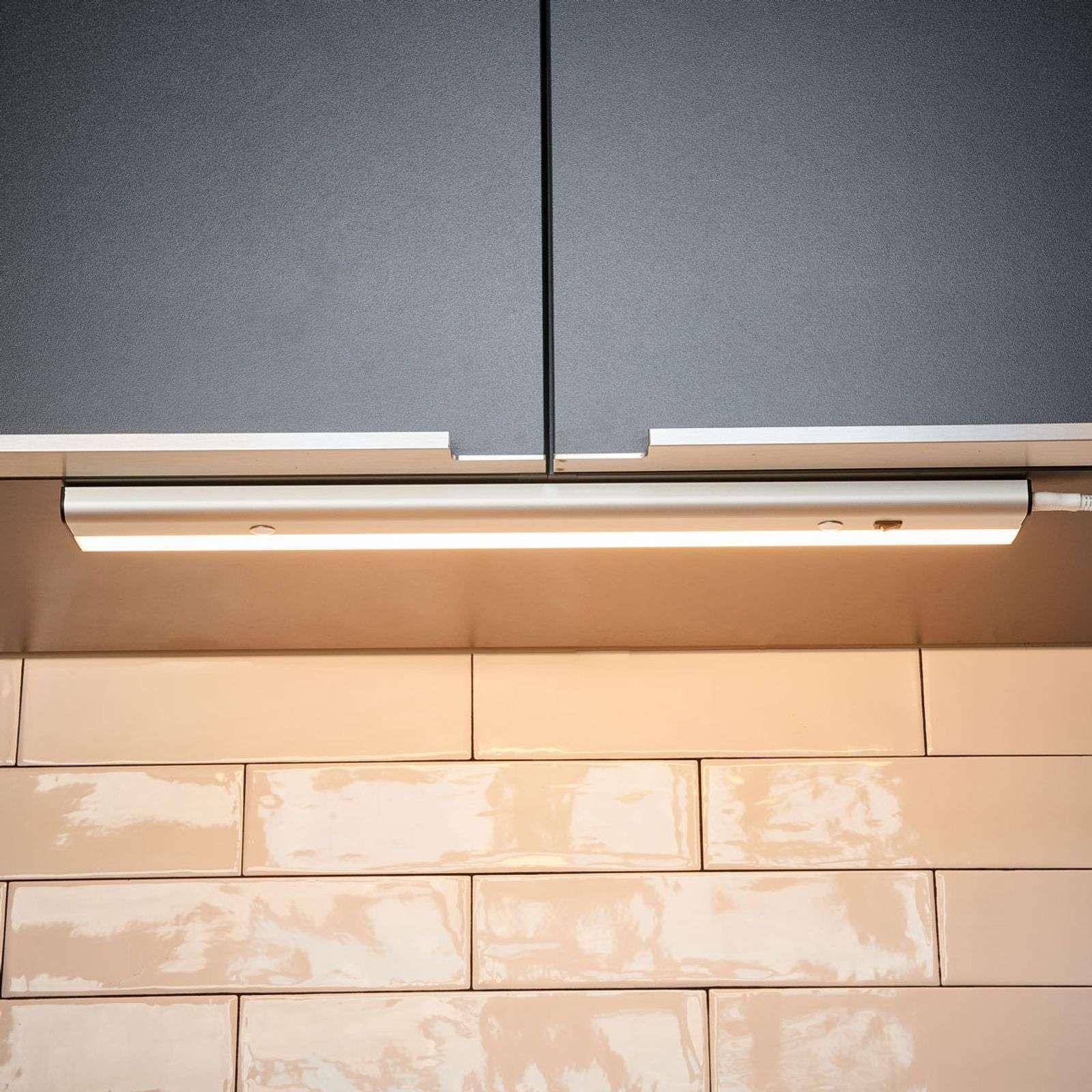 Eclairage Sous Meuble Cuisine Sans Interrupteur lampe sous meuble led devin avec interrupteur de lindby