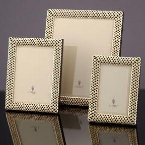 L Objet Braid Gold Picture Frame Gold Picture Frames Frame Handmade Frames