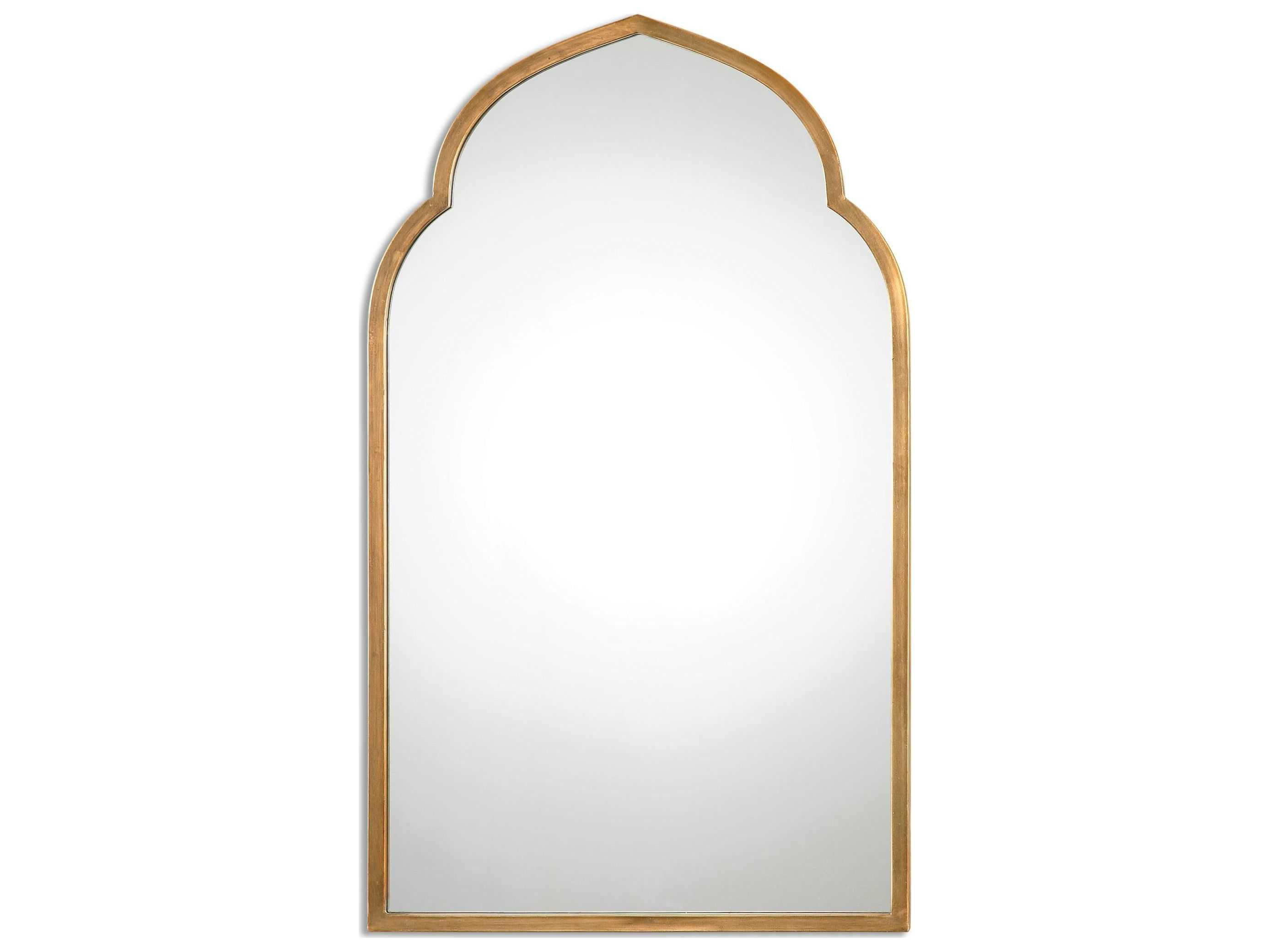 Uttermost Kenitra 24 X 40 Gold Arch Wall Mirror Gold Mirror Wall Antique Mirror Wall Gold Arch Mirror