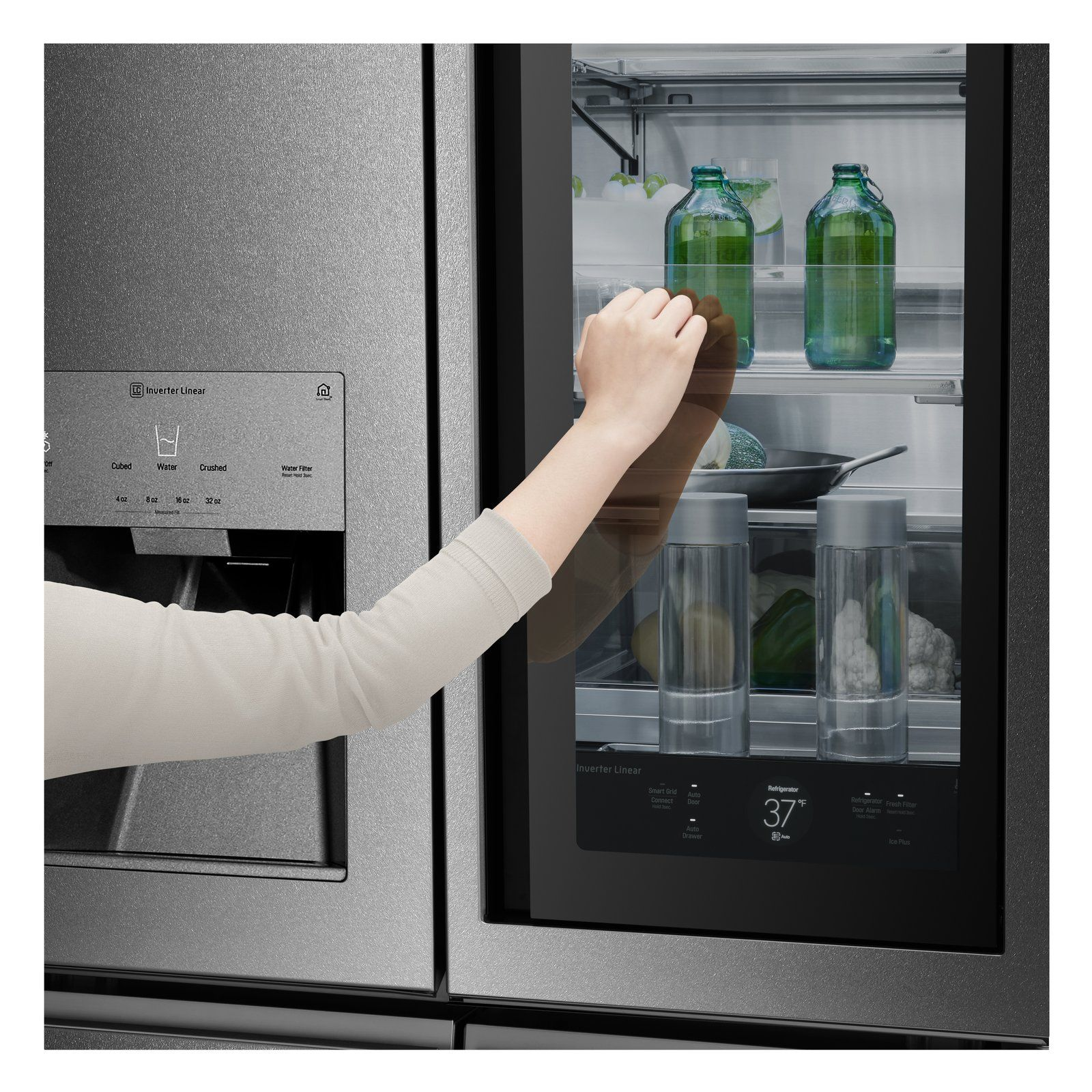 Lg Signature Kitchen And Laundry Smart Home Appliances Refrigerator Models Counter Depth Refrigerator Energy Rating