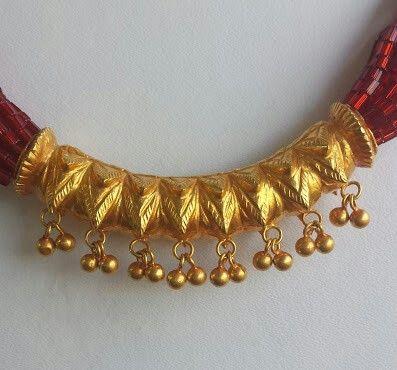 Pote mala | Mala in 2019 | Gold jewellery design, Gold