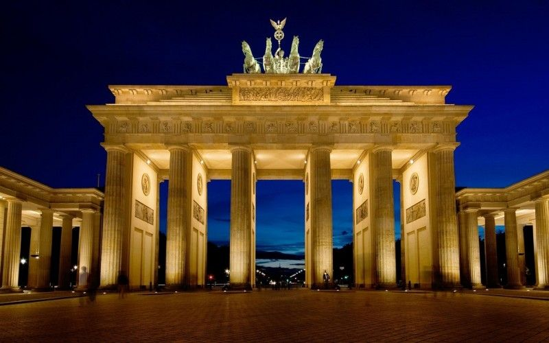 Brandenburg Gate Berlin Germany Wallpaper Wide Or Hd Photography Wallpapers Brandenburg Gate Berlin City Berlin Germany
