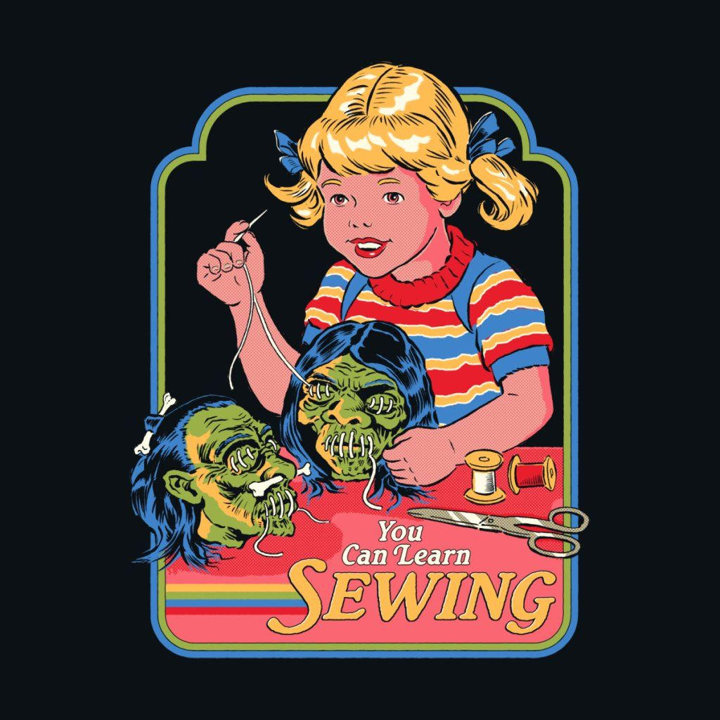 You Can Learn Sewing