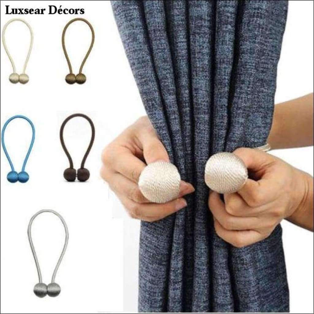 Magnetic Curtain Ties Curtain Hold Backs Luxsear Decors