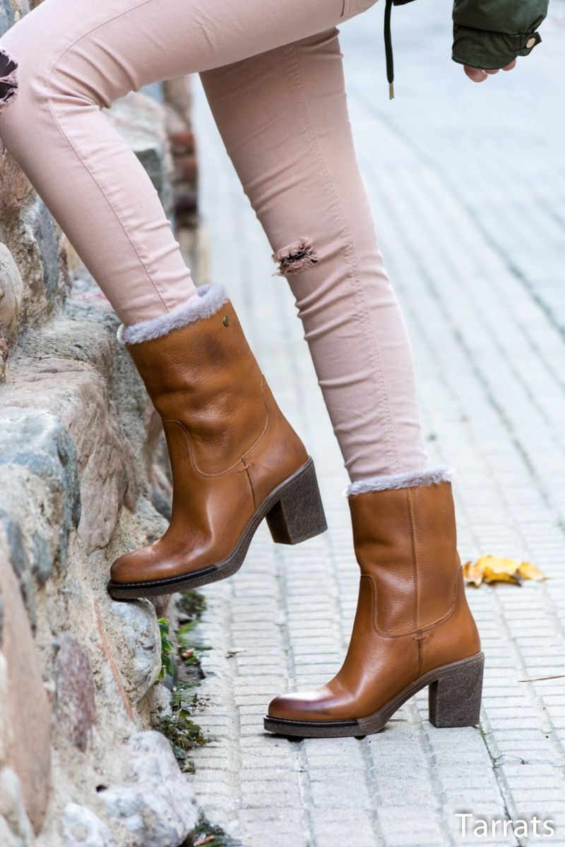 Botas afelpadas by Carmela Shoes - Temporada  Primavera-Verano - Tags   Carmela shoes b4093d0f18af