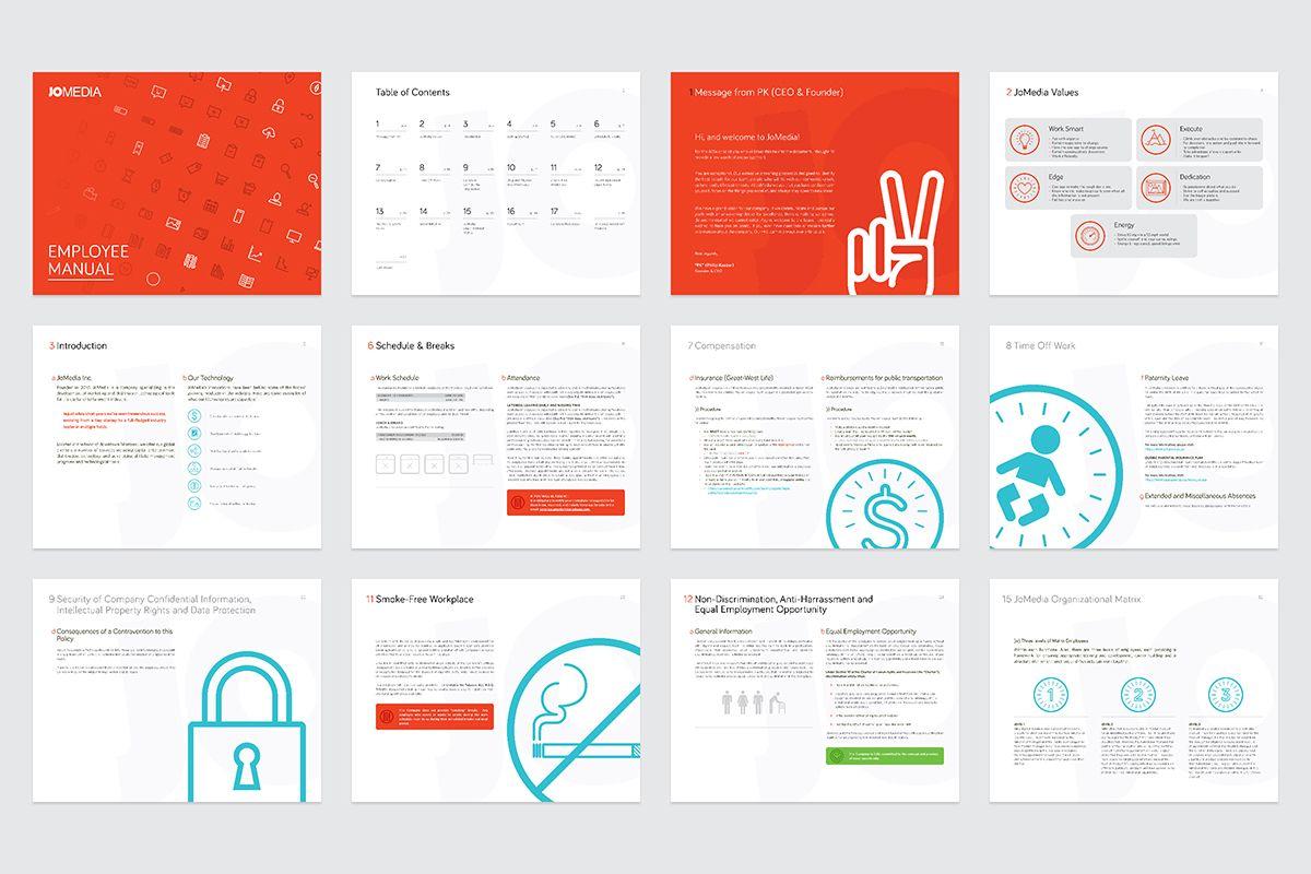 employee handbook design thevillas co