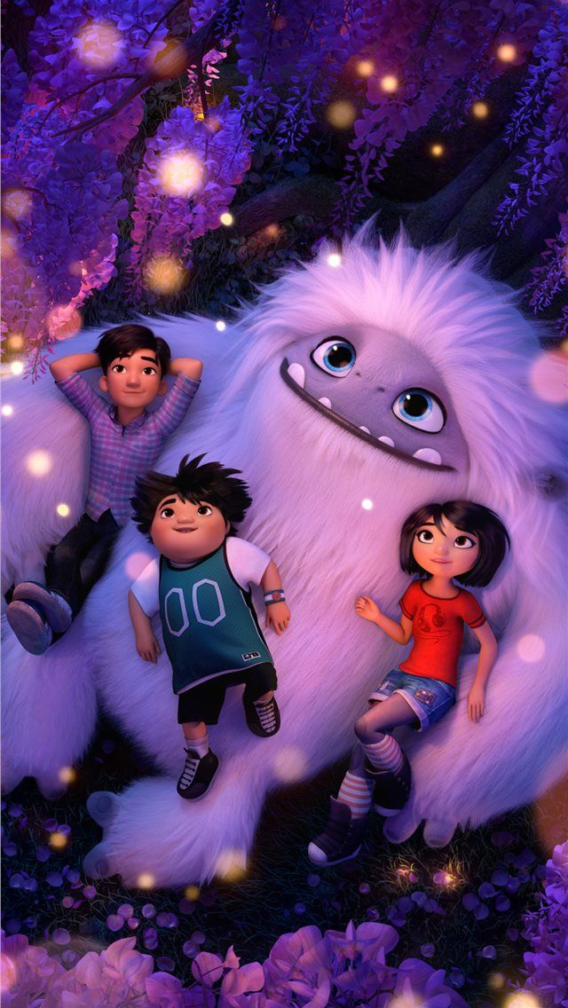 abominable animated movie 8k iPhone Wallpapers
