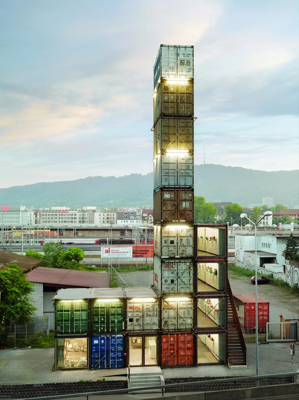 Freitag Flagship Store Zurich | Architecture | Container ...