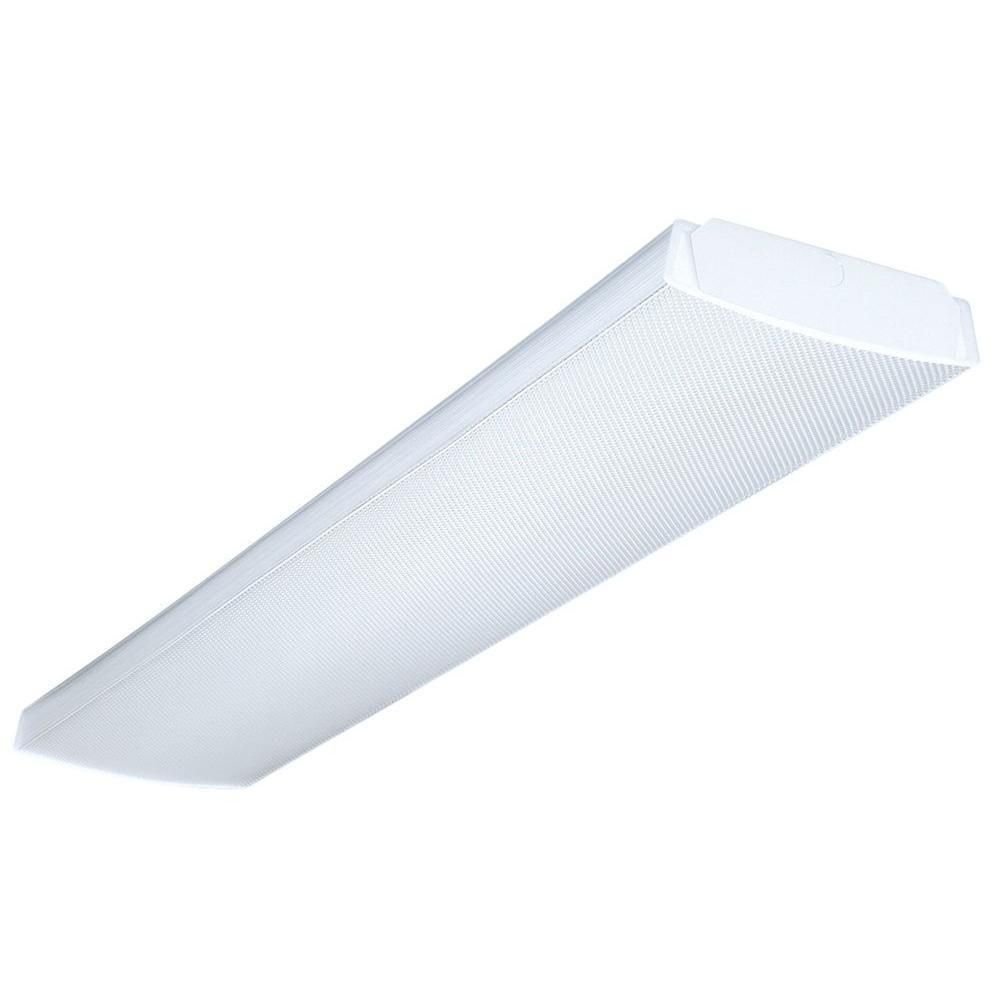 Lithonia Lighting 4 Ft. 4-Light Fluorescent Wraparound