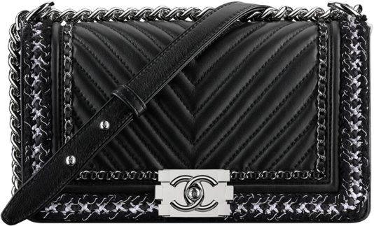 b3a8595e81bc Chanel Fall Winter 2017 2018 collection season handbag bag | The ...