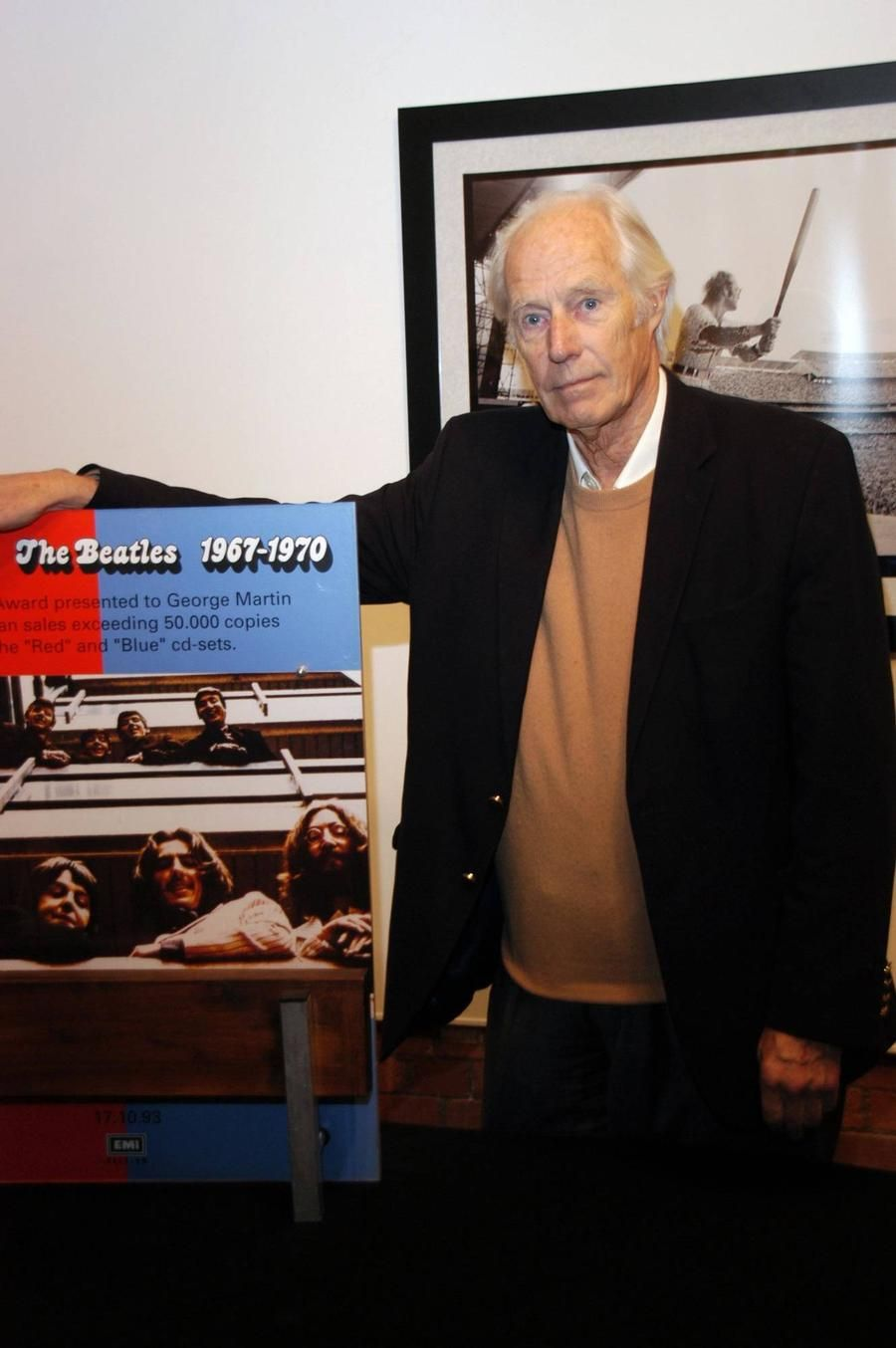 George Martin Laid To Rest