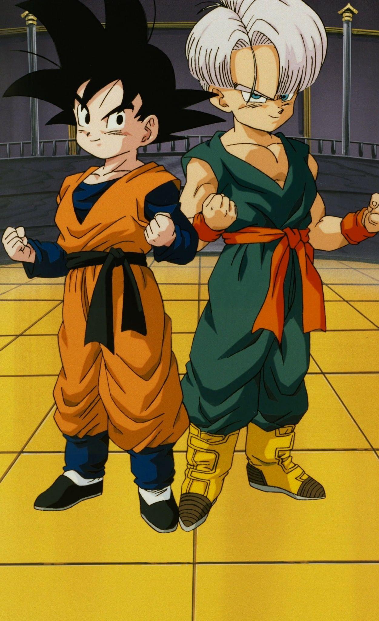 Goten Trunks Broly Vintage Dragon Ball Z Movie Manga Dragon Ball Anime Goten E Trunks