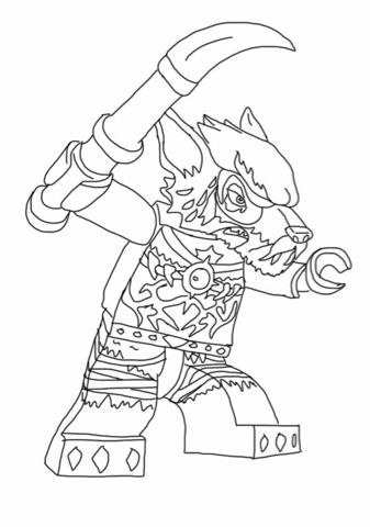 Lego Chima Coloring Pages Lego