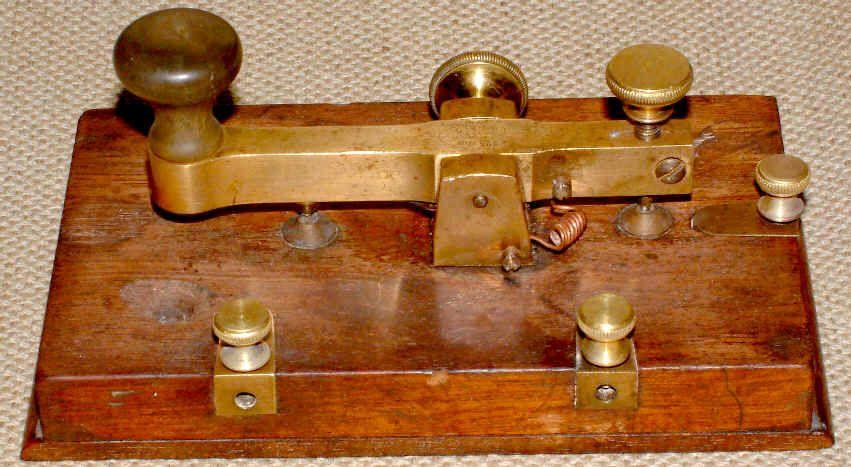 FRENCH MADE DIGNEY MORSE KEY | Ham Radio | Morse code, Ham radio, Key