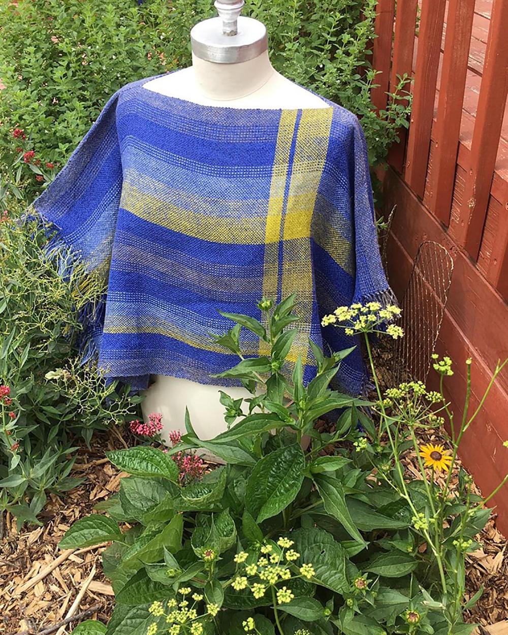 Free Pattern Handwoven Cotton & Linen Boxy Summer Top – GIST: Yarn & Fiber