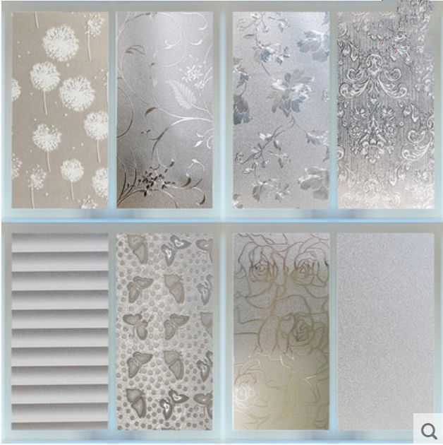 Waterproof Pvc Privacy Frosted Home Bedroom Bathroom Window Sticker Glass Film Bathroom