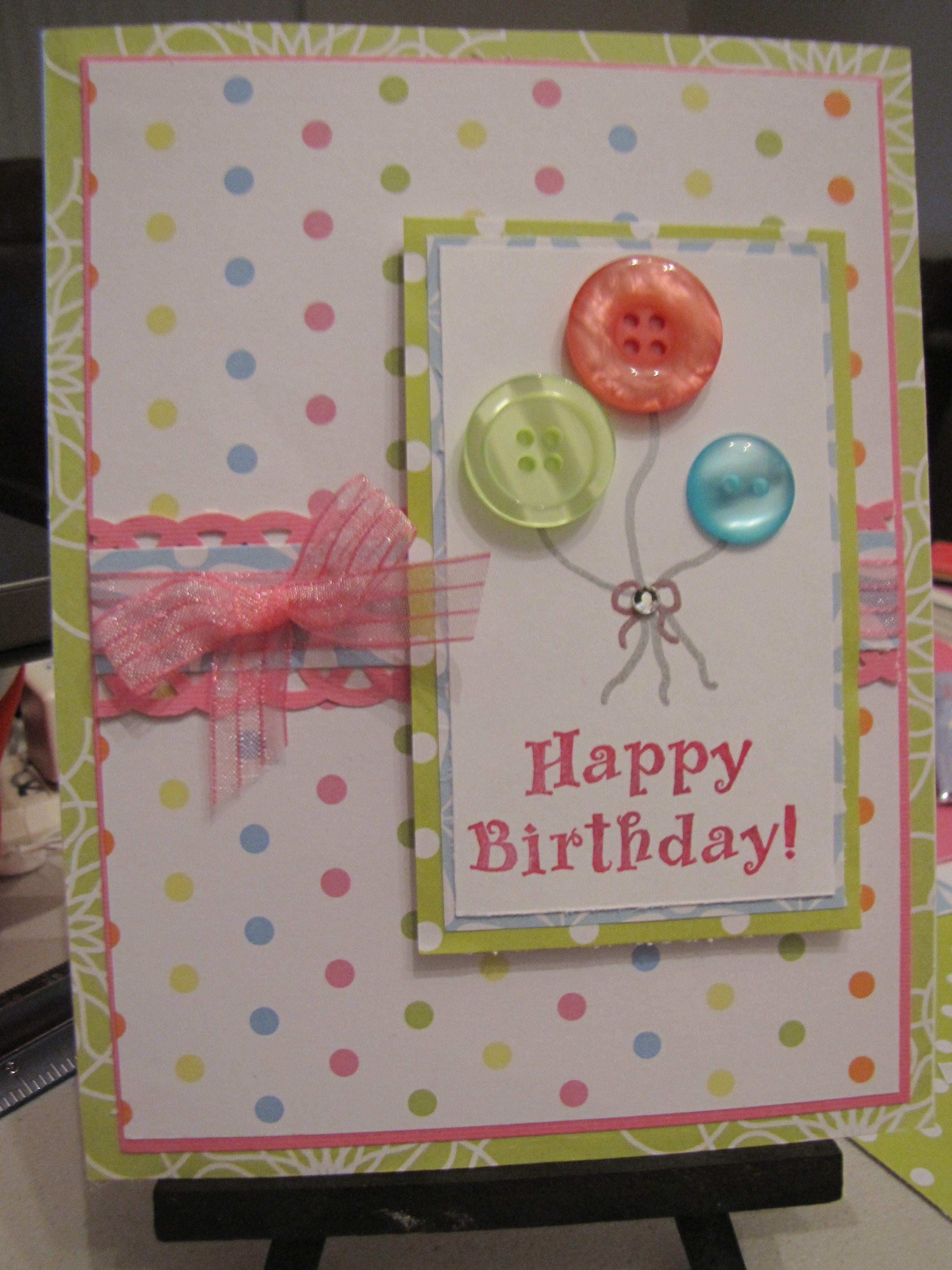 Love the soft pastels cards Pinterest