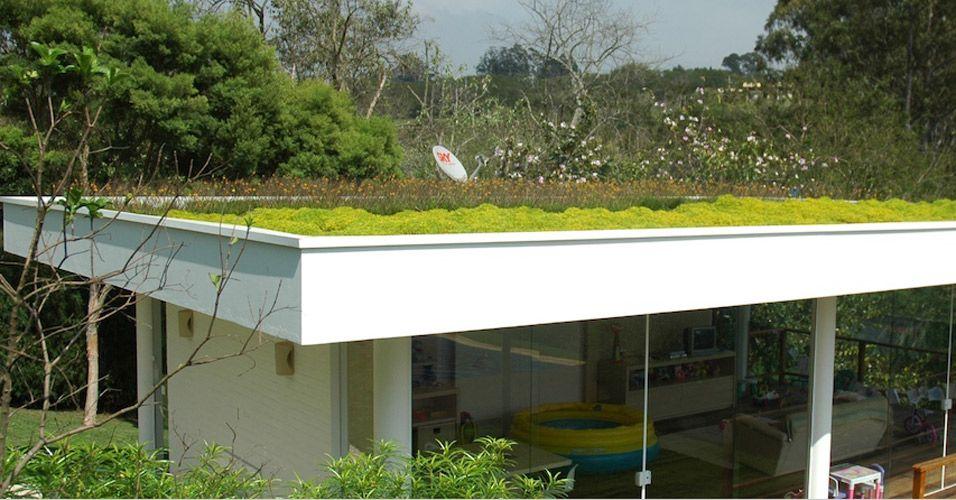 Extremamente Telhado verde: veja projetos brasileiros e internacionais   Laje  LD17