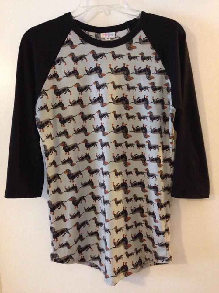 b8b84309799630 VERY RARE UNICORN Lularoe Dachshund Doxie Randy Shirt Small ...