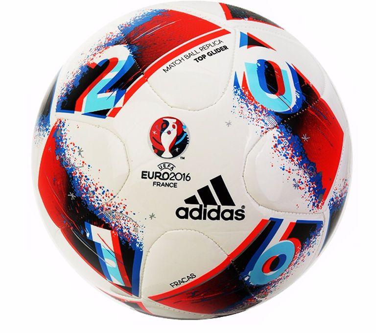 b89cde34847c0 Adidas UEFA FRACAS EURO 2016 Match Ball Replica Top Glider Soccer Ball  AO4860  adidas