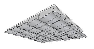 Acoustic Ceiling Surface - 3D Warehouse | Studio III Spring 2014