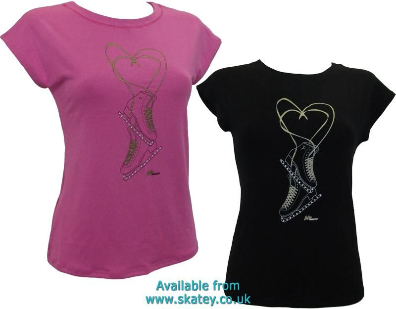 Figure Skates T-Shirt. Part of the Intermezzo collection available ... aa1d52bc182
