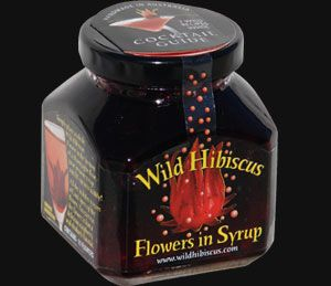 Mmm Something Special For Iced Tea And Cocktails Wild Hibiscus Flowers In Syrup Hibiscus Syrup Hibiscus Flowers Hibiscus