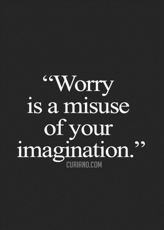 What Good Does Worry Do?