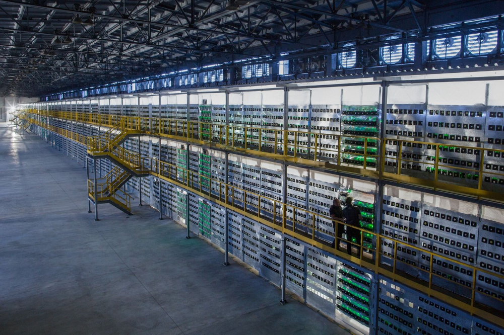 Russia's Largest Bitcoin Mine Turns Water Into Cash (With images ...