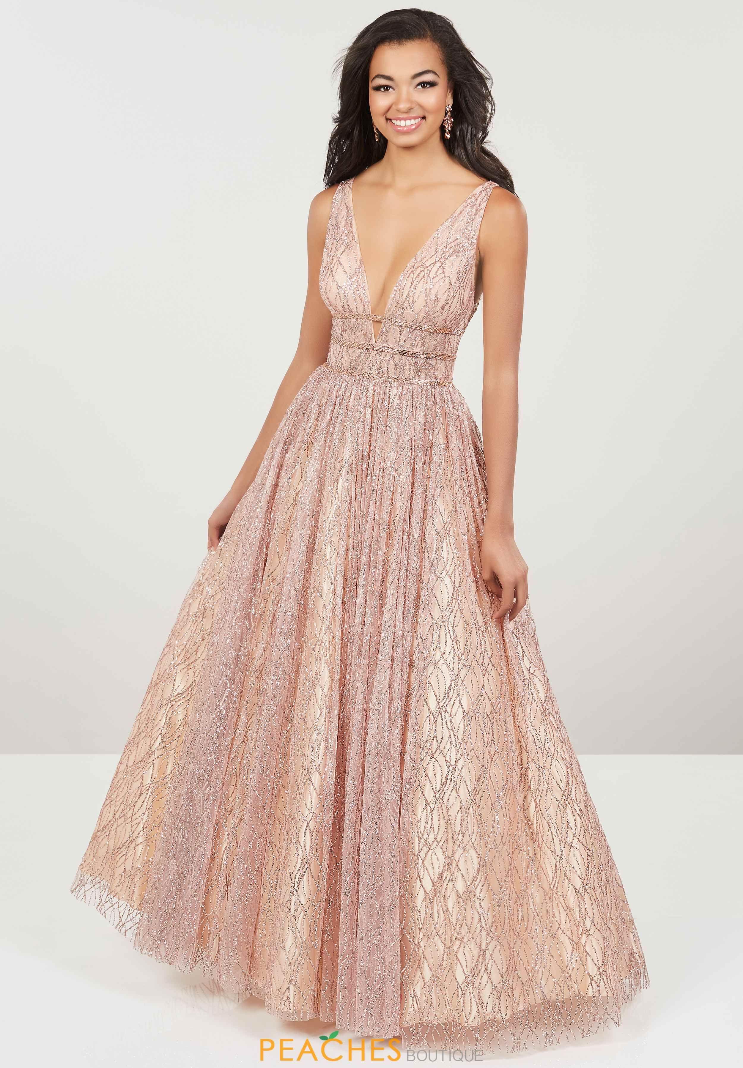 e67a1398253 Panoply V- Neckline A Line Dress 14907 in 2019