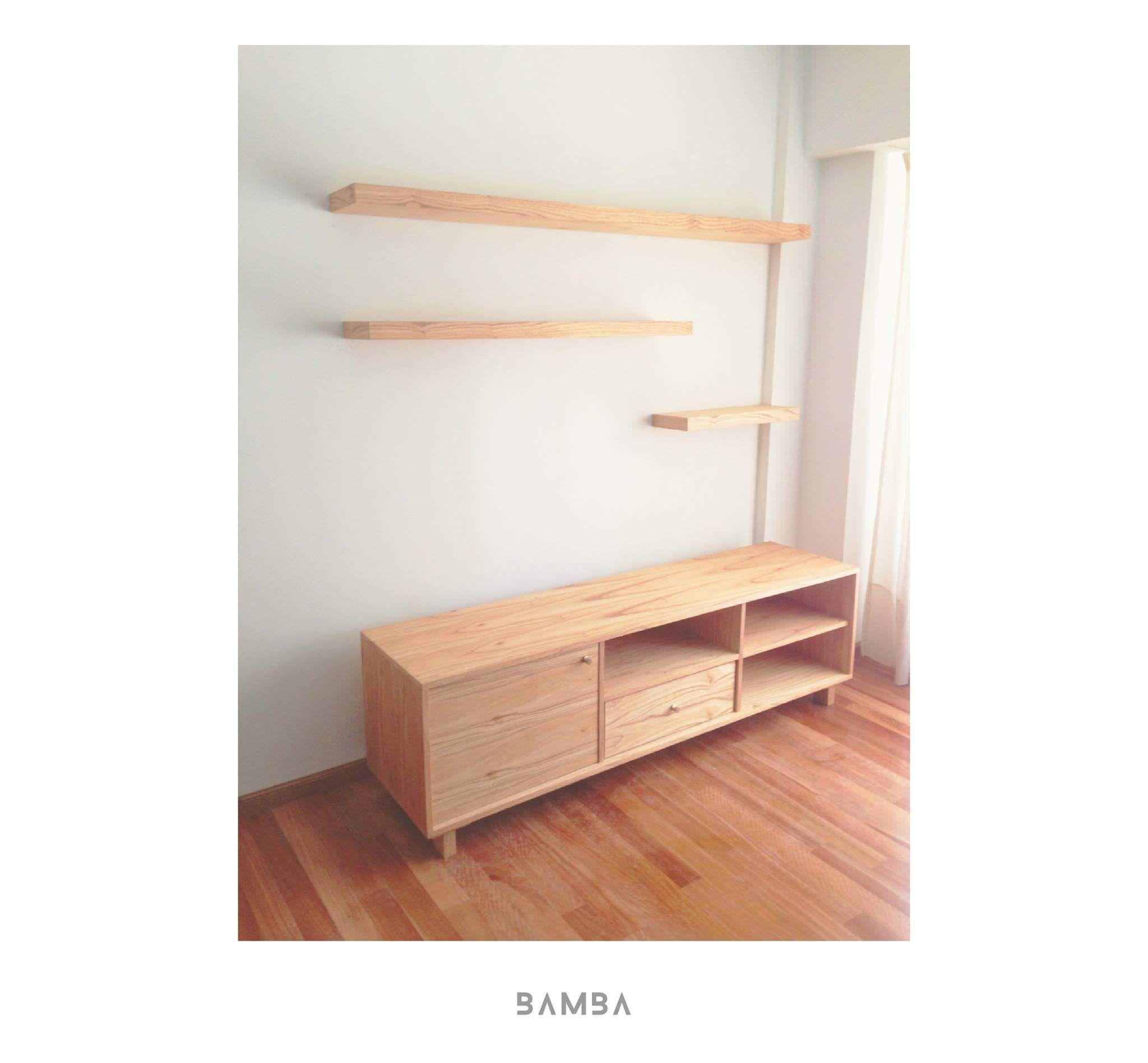 Bamba Dise Os Palermo Fb Mueble Para Debajo De La Tv  # Muebles Bibliotecas Para Living